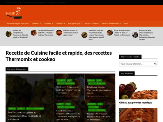 Recettes cuisine, Thermomix, Recette Cookeo