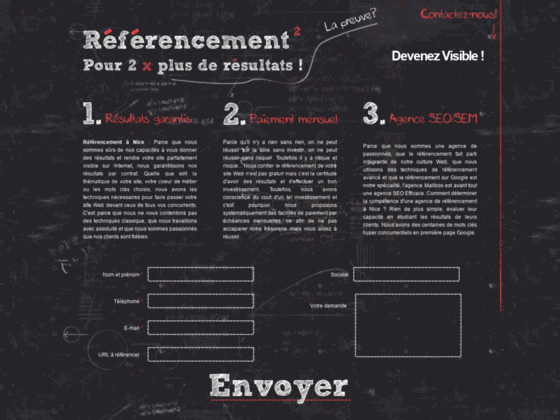 Détails : Agence referencement Nice