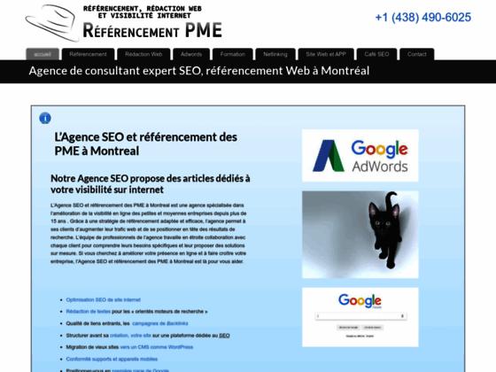 Détails : Referencement PME