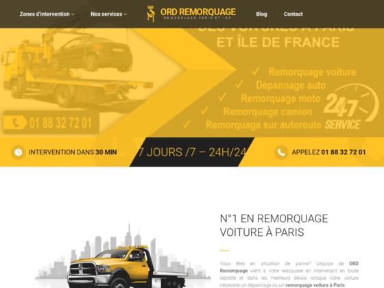 Détails : Remorquage voiture paris