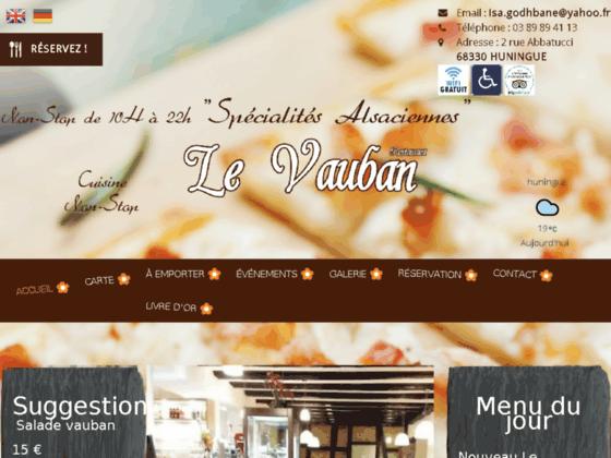 Détails : Restaurant sur Saint-Louis: rendez-vous au Restaurant Le Vauban