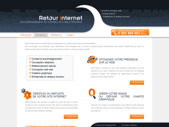 Détails : Stratégie Web Conseil pour les entreprises