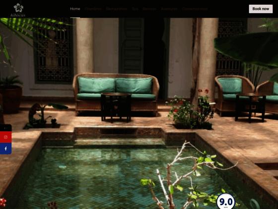 Détails : Riad charme Marrakech