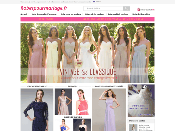 image du site http://www.robespourmariage.fr/