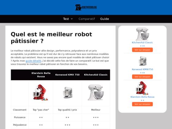 Détails : robot patissier