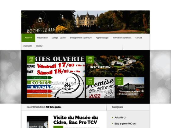 Lycée Rochefeuille: établissement scolaire situé à Mayenne et Ernée
