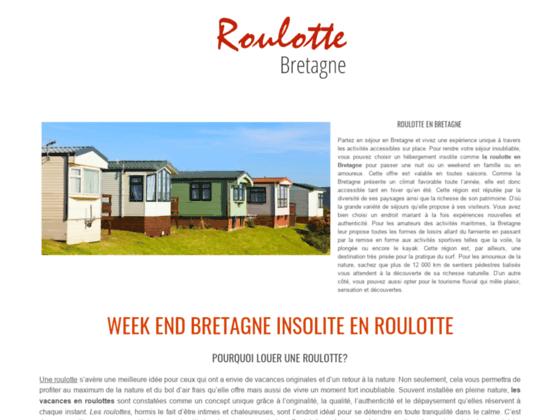 Détails : location roulotte bretagne