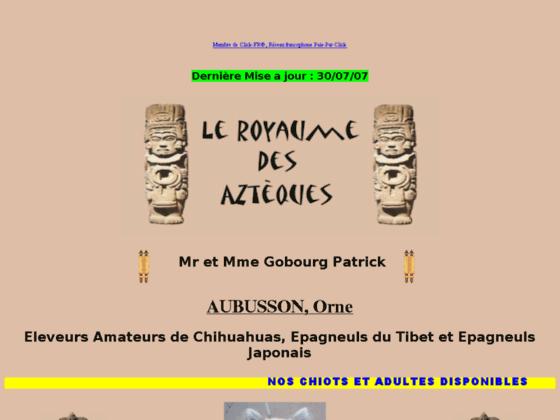 Photo image Le royaume des Azteques