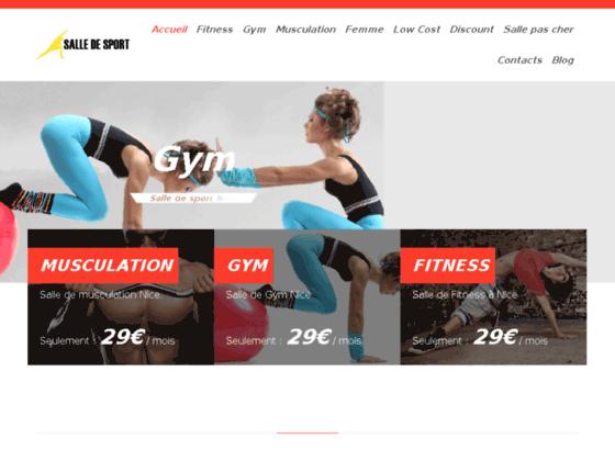 Détails : Salle de sport à Nice