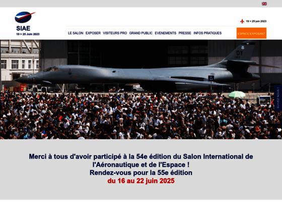 Photo image Salon de l'aéronautique et de l'espace du Bourget