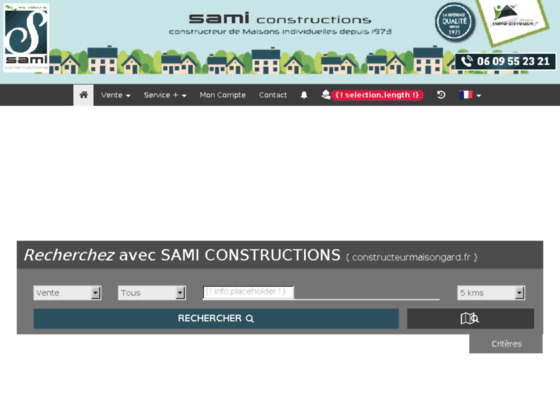 Photo image LA QUALITE DEPUIS 1973 : SAMI CONSTRUCTIONS