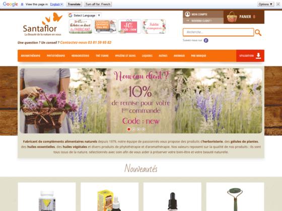 Détails : L'herboristerie sur internet Santaflor