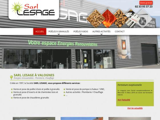 image du site https://www.sarl-lesage.com/