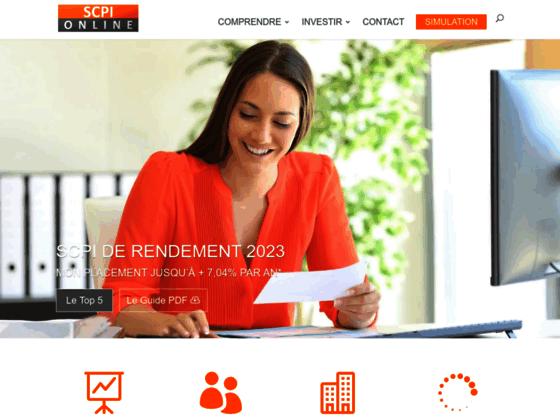 Détails : SCPI online, la référence SCPI