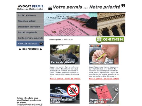 Détails : Avocat de permis de conduire paris