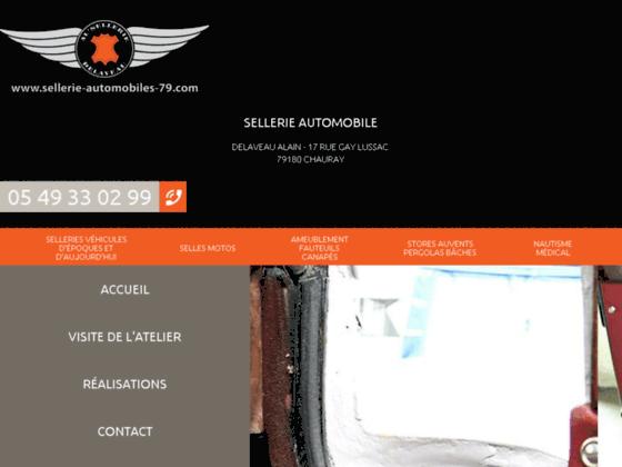 Détails : Sellerie automobile - Delaveau Alain