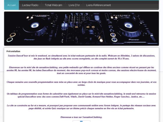 Détails : Accueil - sensationclubbing Mix