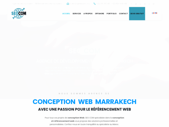 Détails : Référencement web Maroc