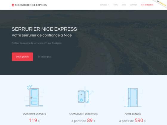 Détails : Serrurier Nice Express : votre artisans serrurier