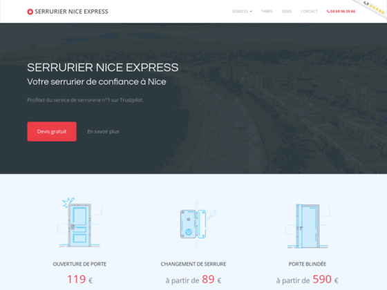 Serrurier Nice Express : votre artisans serrurier