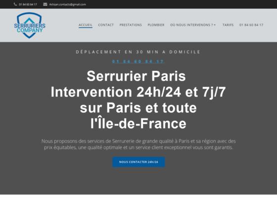 image du site http://www.serruriers-company.fr