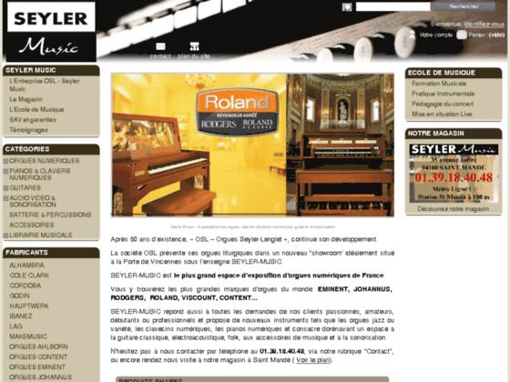 Détails : Seyler Music - Spécialiste de l'orgue classique liturgique