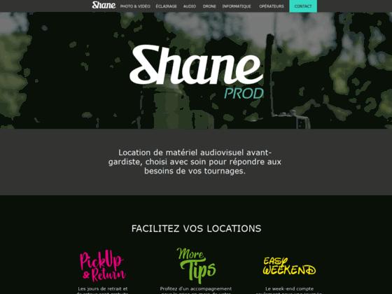 Détails : SHANE PROD