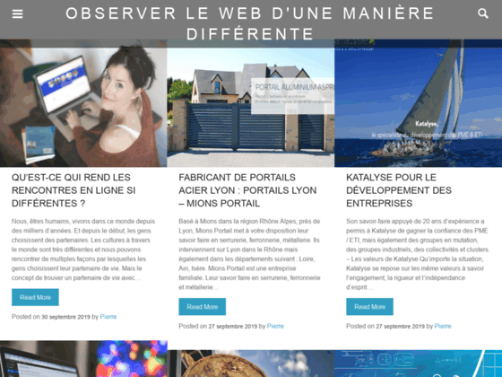 Annuaire site internet