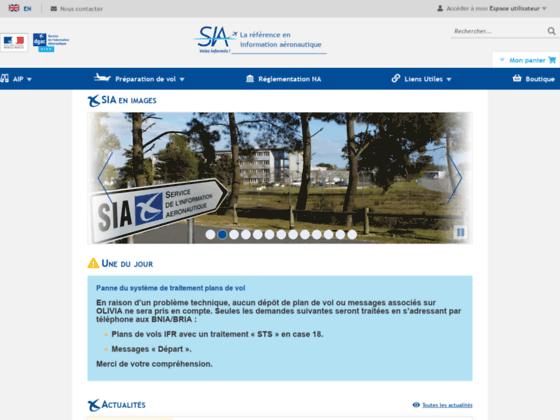 Photo image SIA : Service d'information aéronautique