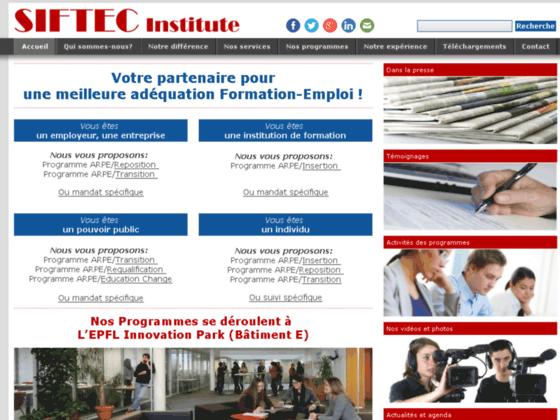 Détails : Institut Siftec, bilan de compétences en Suisse