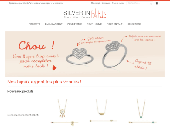 Détails : Silverinparis.com