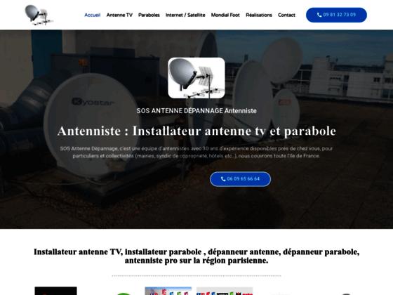 Détails : Installateur parabole et antenne tnt et dépanange antenne en ile de france
