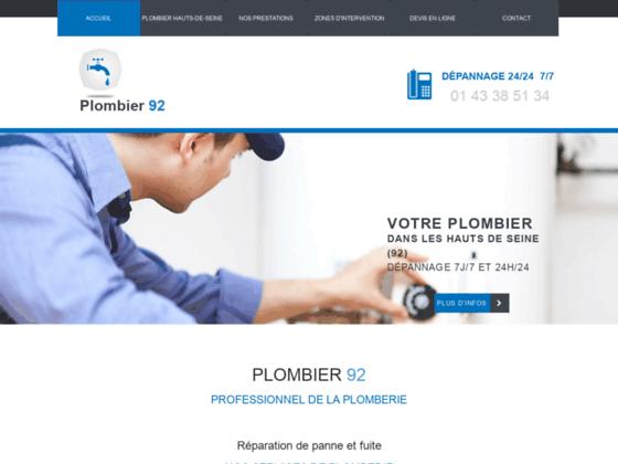 Détails : Sos Plombier 92, la référence dans le département des Hauts de Seine