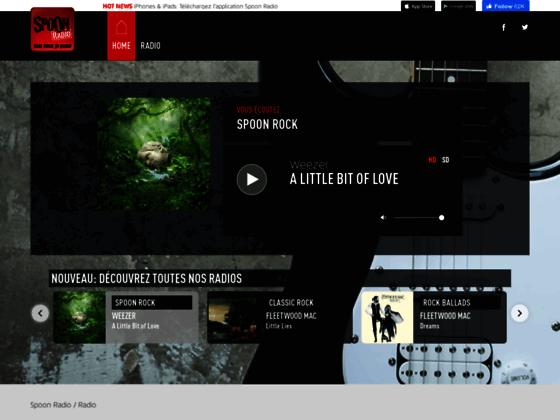 Détails : rock radio