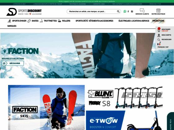 Détails : un magasin de ski de lausanne ici