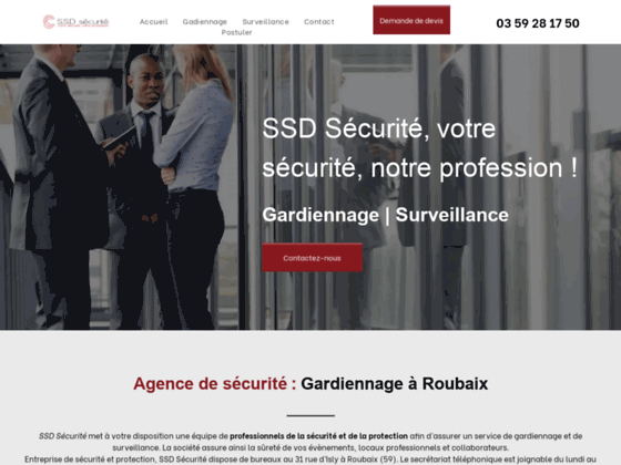 image du site https://www.ssdsecurite.fr/