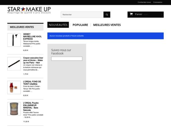 Détails : Maquillage et cosmétiques de grandes marques à petits prix