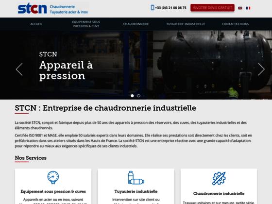STCN, une expérience de 50 années dans la chaudronnerie industrielle au Nord