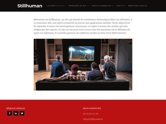 image du site http://stillhuman.fr/