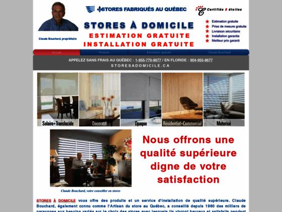 Détails : Stores Montréal