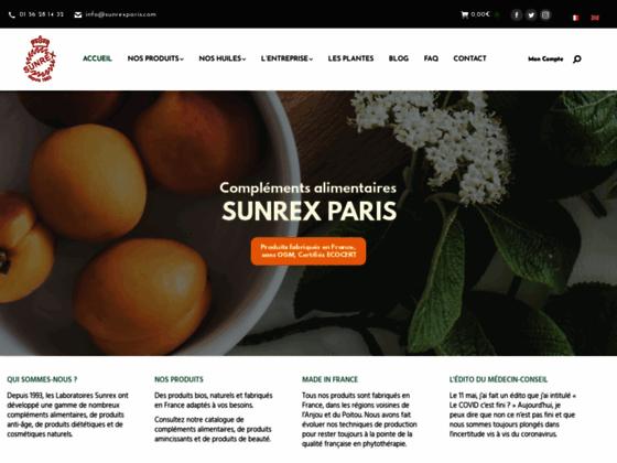 image du site https://www.sunrexparis.com/