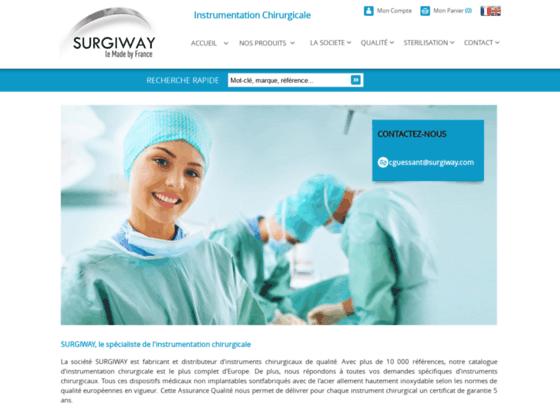 Commander des instruments chirurgie