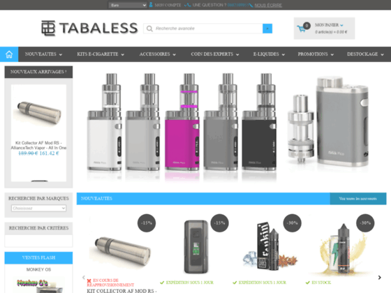 Détails : Prix cigarette electronique