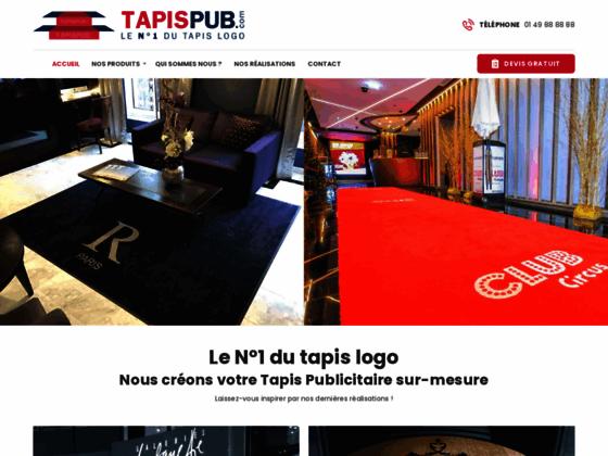 Détails : HDC tapis logo et publicitaire