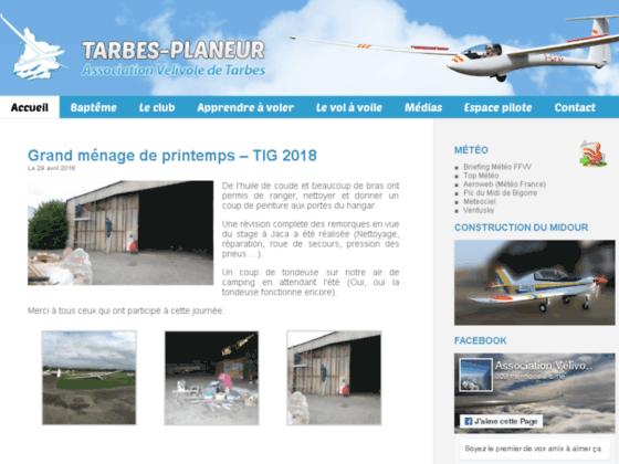 Photo image Association Vélivole de Tarbes - Découvrez le vol en planeur dans les Hautes-Pyrénées