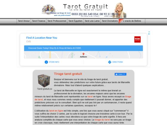 Détails : Tarot gratuit