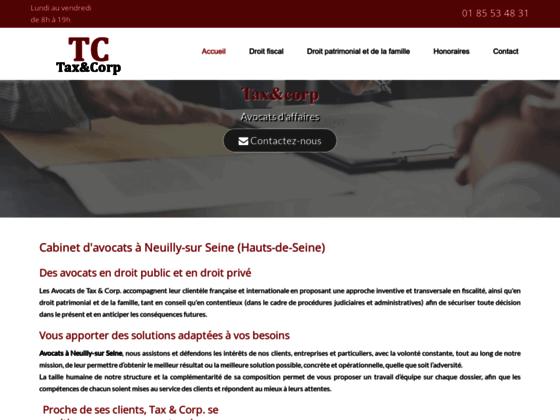 image du site http://www.taxandcorp-avocats.fr/