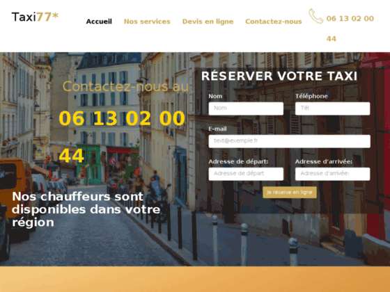 Taxi Seine et marne