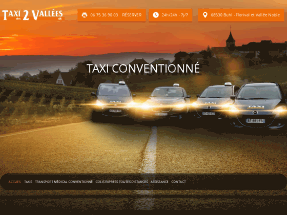 Détails : Besoin d'un taxi dans le Haut-Rhin? Faites appel à Taxi des 2 Vallées