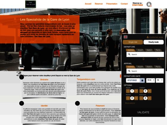 Détails : Votre taxi à la gare de Lyon